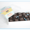 open box of Dolle's®Chocolate Covered Sea Salt Caramels