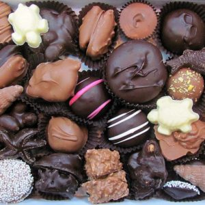 open box of 1 lb Box of Dolle's® assorted Chocolates