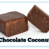 2 pieces of Chocolate Coconut