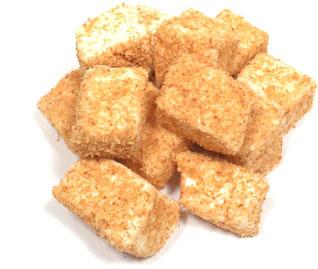 stack of Toasted Coconut Marhmallows