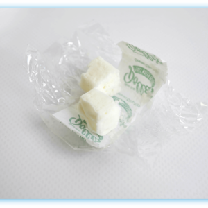 unwrapped Dolle's® creme mint kisses