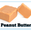 2 Peanut Butter Fudge pieces with one cut in half