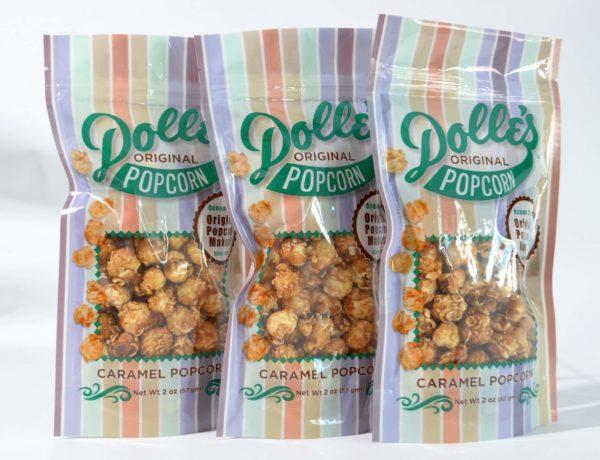 3 2 oz bags of Dolle's® Caramel Popcorn