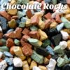 close up of assorted Chocoloate Rocks