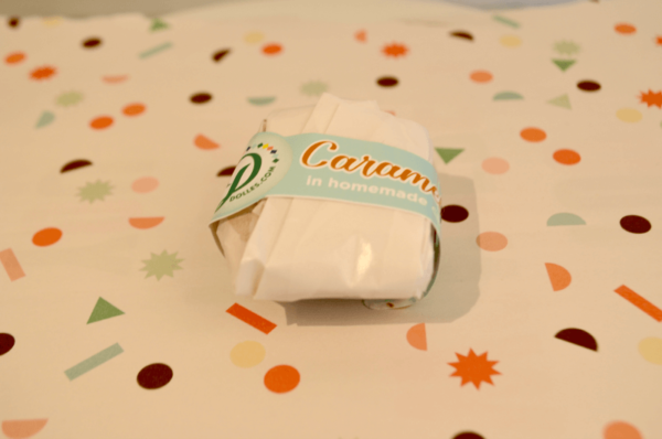 paper wrapped Caramellow