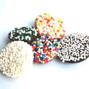 assortment of Chocolate Non Pareils